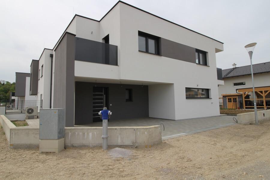 Kubus Pixendorf Doppelhaus