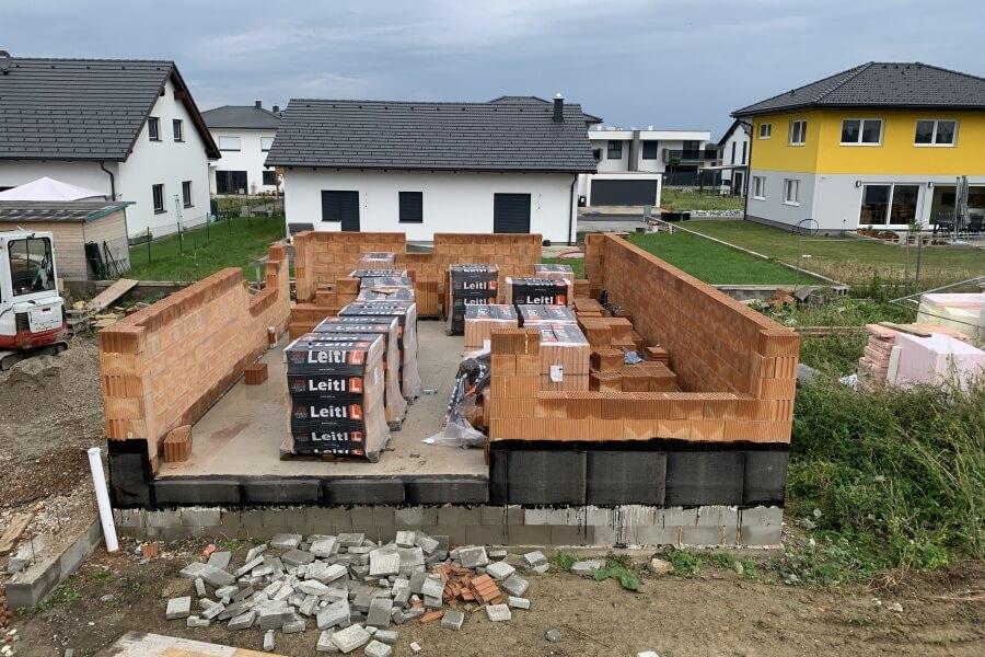 Pixendorf Kubus Bauträger Projekt